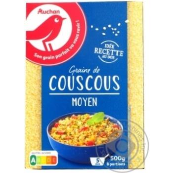 Кускус Auchan середнє зерно 500г - купити, ціни на Ашан - фото 6