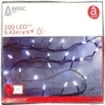 Гірлянда Actuel 100 LED в асортименті
