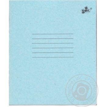 Notebook Brisk diagonal line 12pages - buy, prices for Auchan - image 1