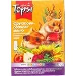 Корм Topsi Фруктово-овощное меню для мелких грызунов 510г