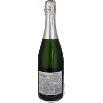 Вино игристое Cola de Cometa Cava белое брют 11,5% 0,75л - купить, цены на Ашан - фото 2