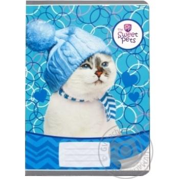 Блокнот Sweet pets А5 16 сторінок - купити, ціни на Ашан - фото 1