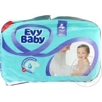Підгузки Evy Baby Maxi 7-18кг 40шт