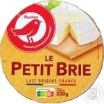 Сыр Ашан Petit Brie 60% 500г