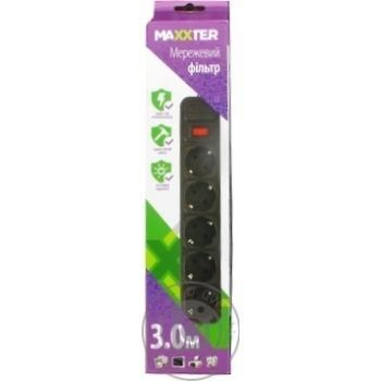 Power strips 300cm - buy, prices for Auchan - image 1