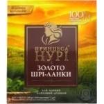 Чай черный Принцесса Нури Золото Шри-Ланки в пакетиках 100шт*2г