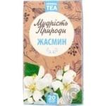 Чай Мудрість Природи Жасмін в пакетиках 20шт*1,5г