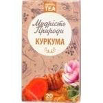 Чай травяной Мудрость Природы Куркума в пакетиках 20шт*1,5г