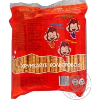 Pikolo Straws salted 200g - buy, prices for Auchan - photo 2