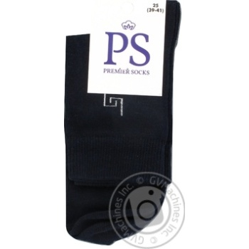 Носки Premier Socks мужские 25р - купить, цены на Ашан - фото 1