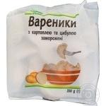 Вареники Каждый день с картофелем и луком замороженные 350г