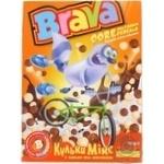 Сніданки сухі Brava Мікс кульки з какао та молоком 190г