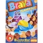 Сніданки сухі Brava Мікс пластівці з какао та молоком 190г
