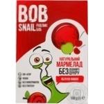 Мармелад Bob Snail яблоко-вишня без сахара 108г