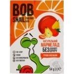 Мармелад Bob Snail груша-апельсин без сахара 54г