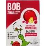 Мармелад Bob Snail груша-малина-свекла без сахара 54г