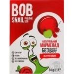 Мармелад Bob Snail яблоко-вишня без сахара 54г