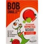 Bob Snail Marmelade apple-carrot without sugar 54g