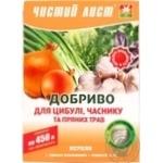 Добриво Чистий Лист для цибулі часнику та зелені 300г - купити, ціни на Ашан - фото 1
