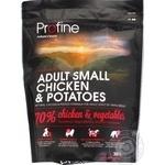 Корм сухой Profine с курицей и картофелем для взрослых собак малых пород 300г