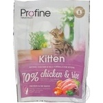 Profine feed dry with chicken and rice for kittens 300g