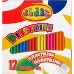 Пластилін Class 12 кольорів 240г
