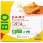 Auchan Bio Biscottes 34pcs 300g