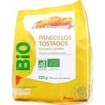 Хлібці Auchan Bio злаки 225г