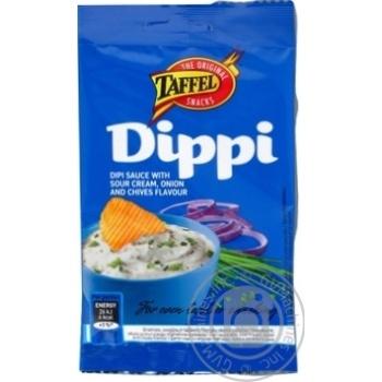 Смесь сухая Taffel Diipi Соус со вкусом сметаны лука и зеленого лука 15г - купить, цены на Ашан - фото 1