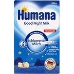 Молочна суміш Humana Солодкі сни з омега-3 для дітей з 6 місяців 600г - купити, ціни на Ашан - фото 1