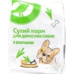 Food Auchan Kozhen den with vegetables dry for dogs 500g
