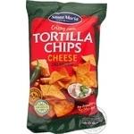 Santa Maria Tortilla chips corn with cheese and jalapeno 185g