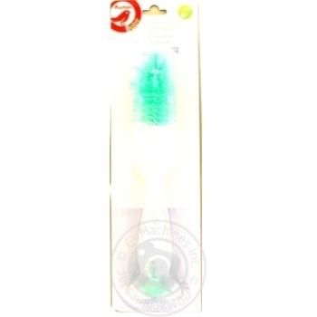 Йоржик Ашан для пляшок і сосок із присоскою - купити, ціни на Ашан - фото 1