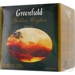 Чай Greenfield Golden Ceylon 120пак