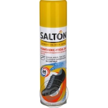 Salton 2in1 For Of All Colors Combined Shoes Complex Care 250ml - buy, prices for MegaMarket - image 4