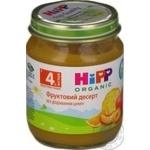 Пюре ХиПП Фруктовый десерт без сахара для детей с 4 месяцев 125г