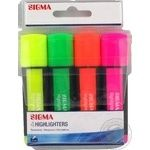 Sigma Highlighters colored 4pcs