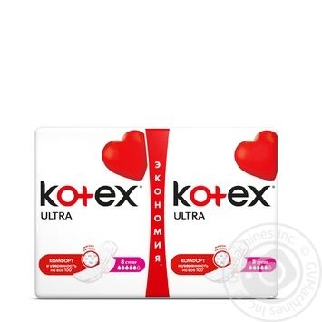 Kotex Ultra Super Dry Plus For Women Pads16pcs - buy, prices for Novus - image 1