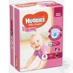 Diaper Huggies Ultra comfort for girls 17pcs