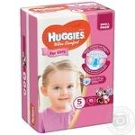 Diaper Huggies Ultra comfort for girls 15pcs