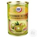 оливка Повна чаша зеленый консервированная 290г