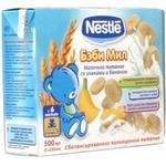 Каша Нестле молоко мед рідка для дітей 250г Швейцарія