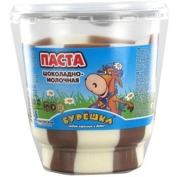 Паста кокосова манна Бурундук 250гр - купить, цены на Novus - фото 1