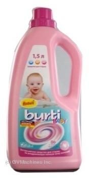 Средство для стирки Бурти Baby для детских вещей 1.5л