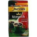 Кава Якобз Монарх Інтенс дрібний помел натуральна смажена мелена 250г Болгарія