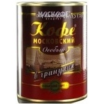 Natural instant granulated coffee Moskofe Moscow 100g India