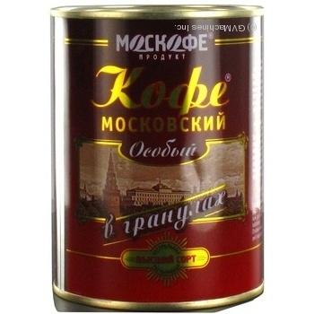 Кофе Москофе Московский натуральный растворимый гранулированный 100г Индия