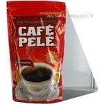 Кофе Кафе Пеле натуральный растворимый порошкообразный 100г Бразилия