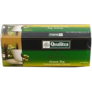 Зелений чай Кволіті з жасмином в пакетиках 25х2г Україна - купити, ціни на Novus - фото 2