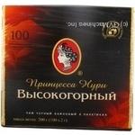 Tea Princess noori black packed 100pcs 200g cardboard packaging Ukraine